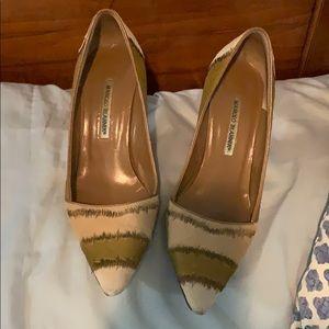 Authentic Manolo Blahnik heels size 40